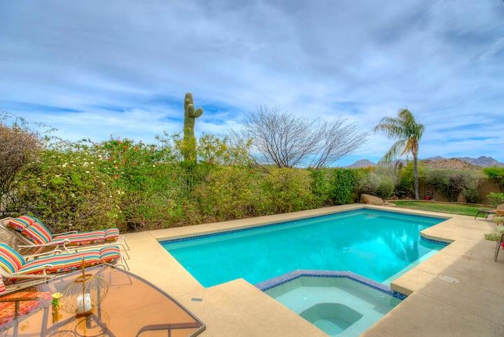 High desert oasis in Scottsdale, TROON