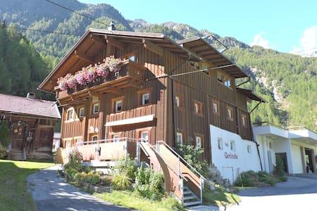 Ferienhaus Gerlinde Sölden Ötztal - Sölden - Blockhütte