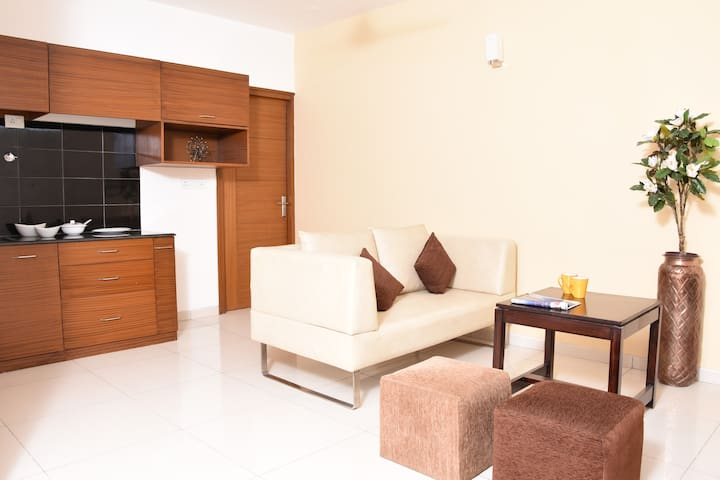 Spacious & fully furnished house.