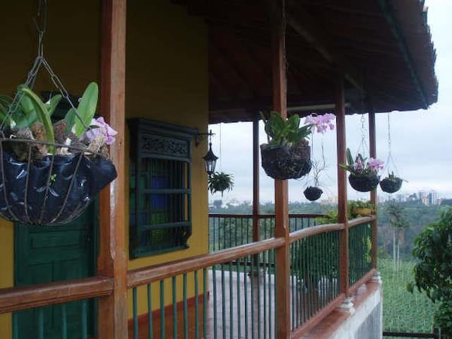 FINCA CAFETERA,COZY COFFEE FARM, SPECTACULAR VIEW