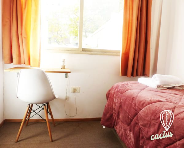 CACTUS COLIVING Palermo • Private room&Single bed