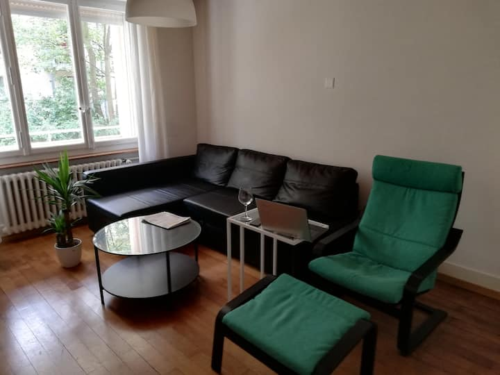 Cosy flat  near center of Bern, double bed