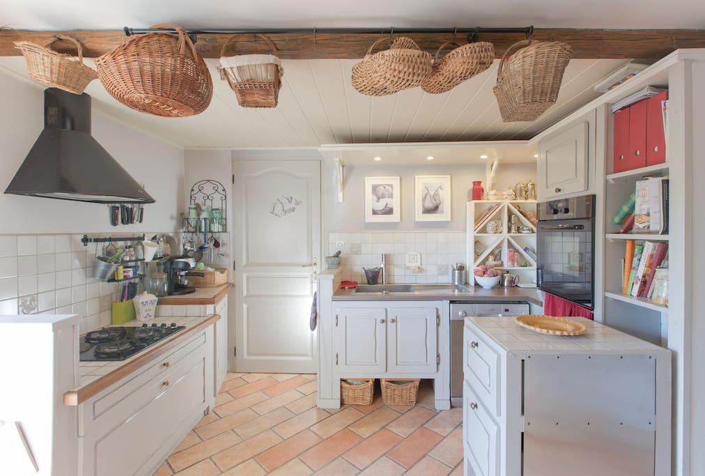 Un espace cuisine/salle à manger est à votre disposition