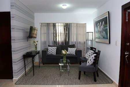 Wi- Fi , King bed, A/C ,Great Location!! - Santiago de los Caballeros - 公寓