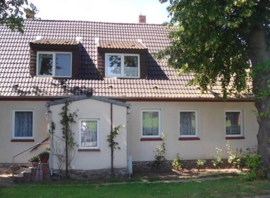 Wohnung im Obergeschoss des Hauses
