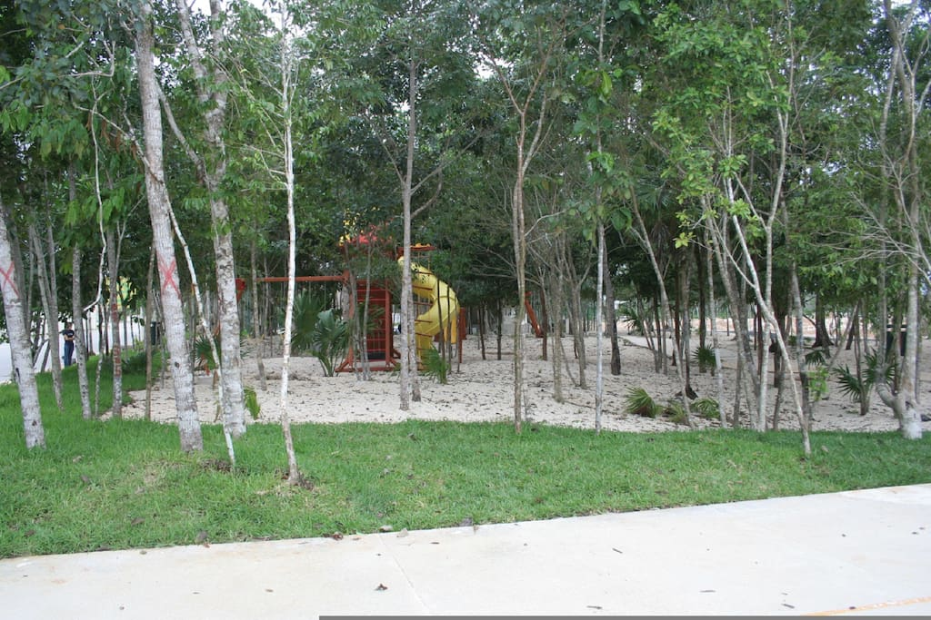 park with children's play ground