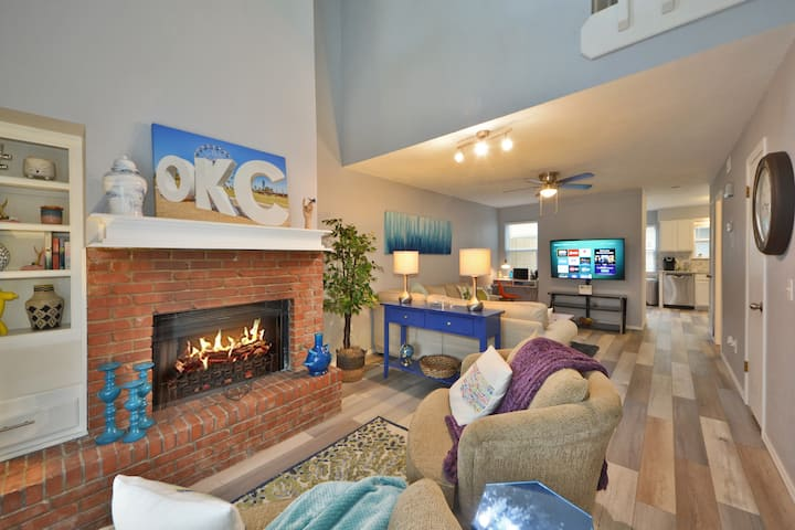 OKC Blue Skies Inn - Your comfortable, casual stay