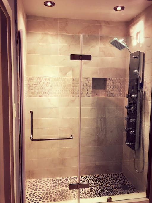 Brand new upgraded spa shower with 9 different spray modes