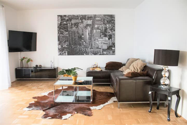 """Luxury 90sqm flat """"Hill"""" - Your """"Hyggelig Haus""""!"""