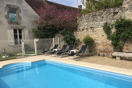 House in the countryside with pool 100km fromParis - Talo