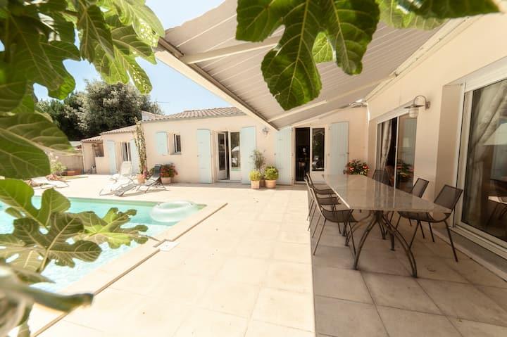 Villa d'exception avec piscine chauffée