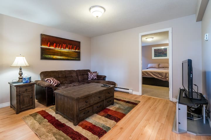 1 Bdrm Basement Suite . Clean, Central Location !