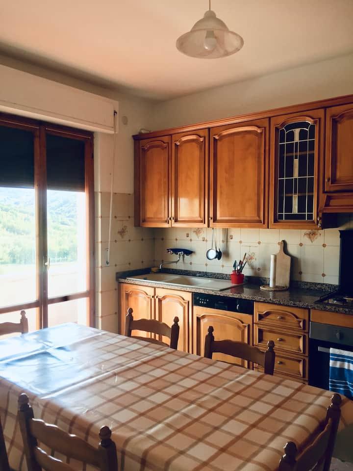 Intero appartamento a Castelraimondo