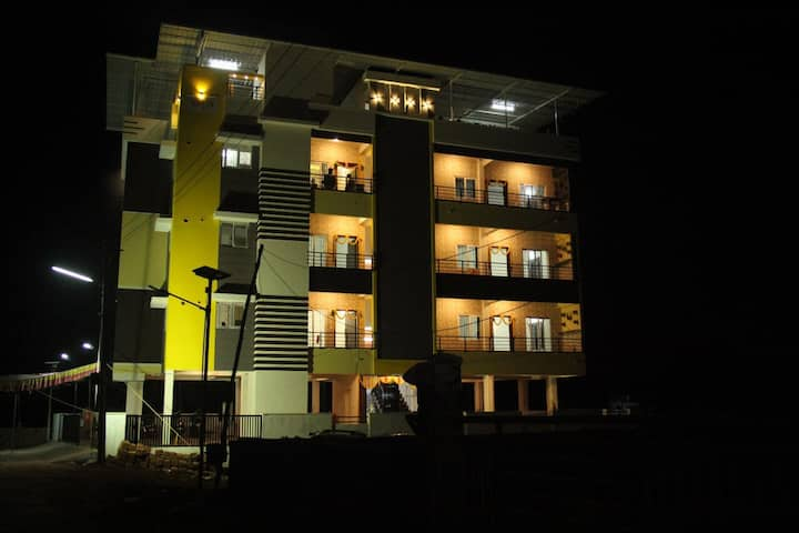 Furnished 2BHK AC Apartment in Bejai Mangalore