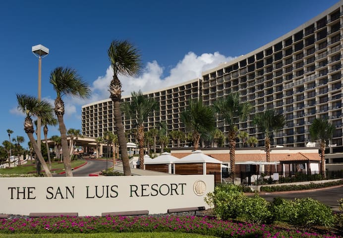 San Luis Condo Resort Beach Front - Galveston - Kondominium