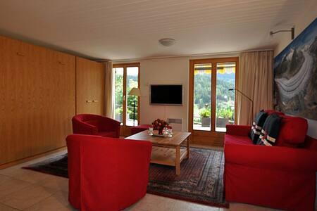 Sehr moderne Wohnung mit toller Aussicht - Fiesch