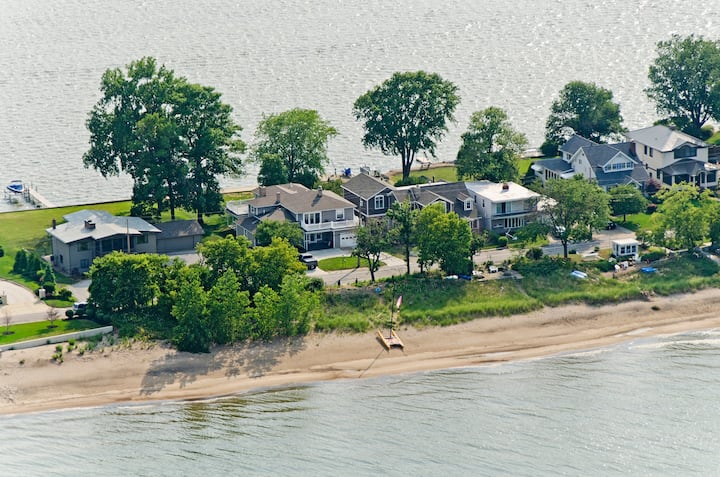 Beachfront Home with Private Beach