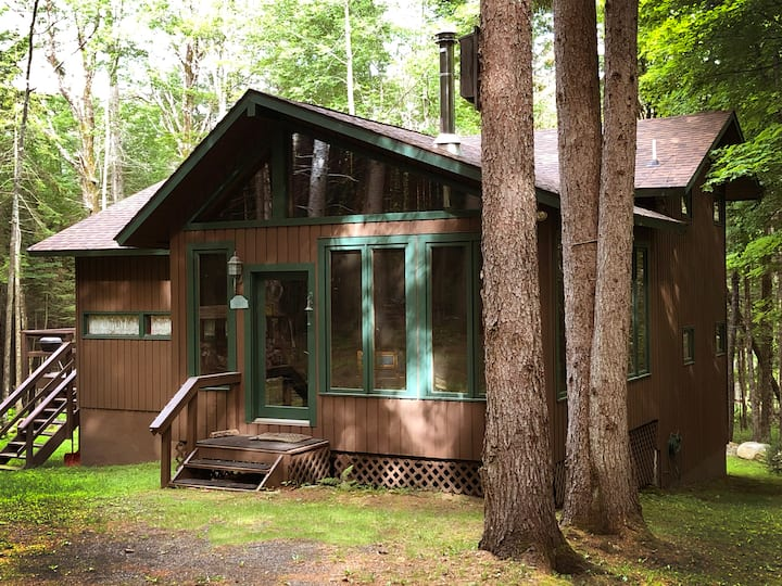 Cabin on 3-Acres. Ski Gore Mt., X-Country Trails