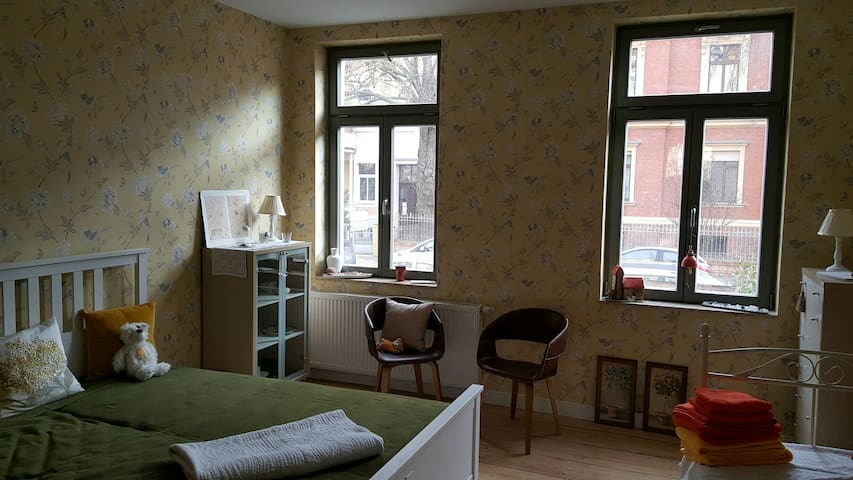 new luxurious furnished apartment, city center - Halle (Saale) - Apartament