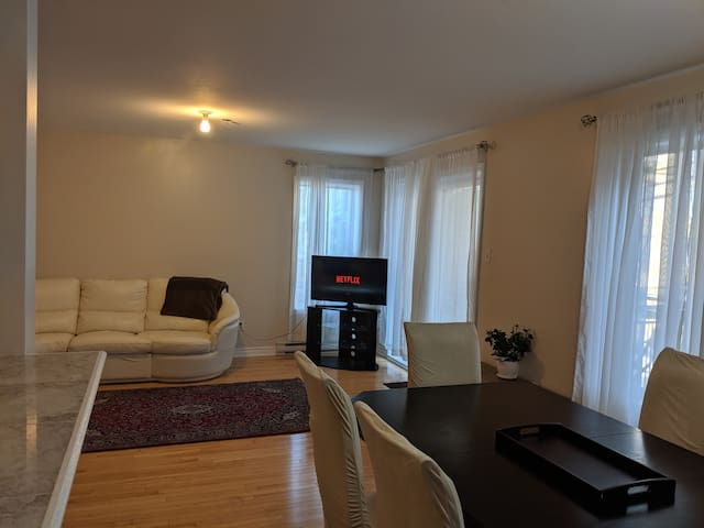 condo 2bdr,privat parking,wifi,20m downtown,