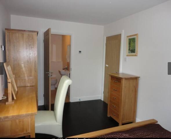 Ground Floor Bedroom view to En-suite