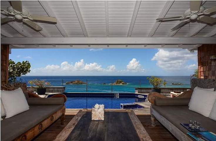 Gustavia Sky - 2bedroom in St Barth - Gustavia - Villa