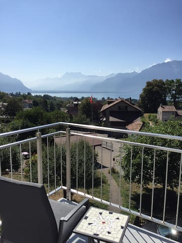 Stunning view, Swiss Riviera at your doorstep!
