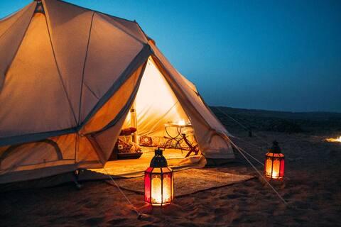 VIP - шатер на берегу Тихого Океана