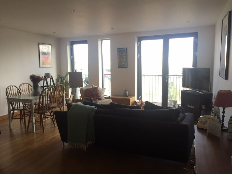 Living room with a great view