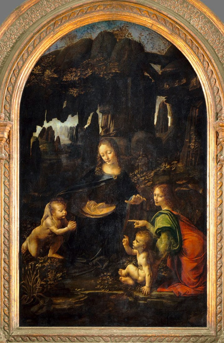 Virgin of the rocks