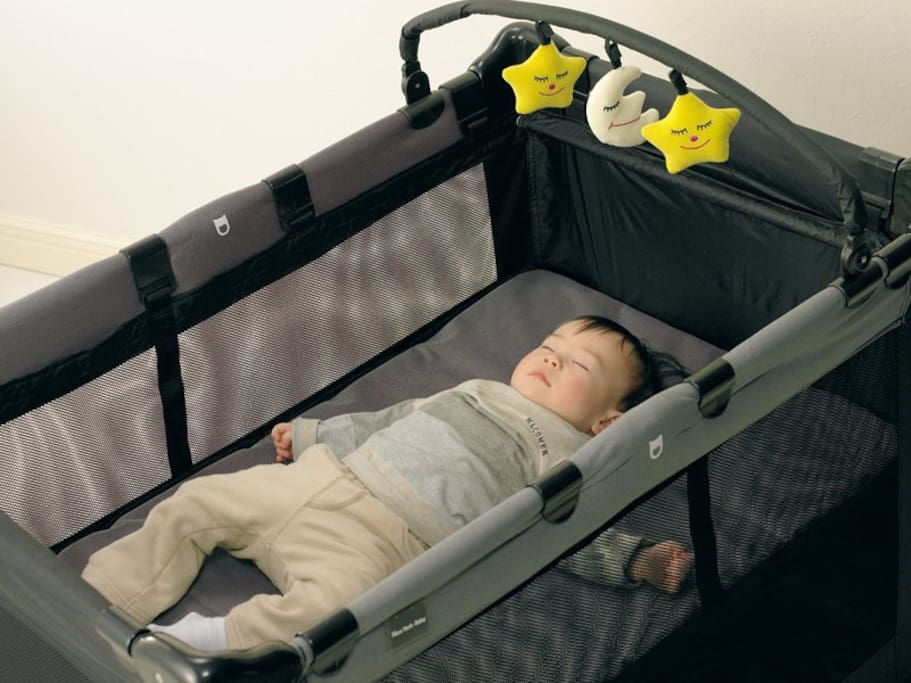 Baby cot is available.
