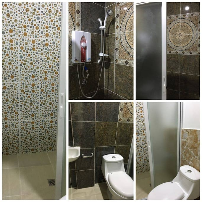Private Bathroom and Toilets