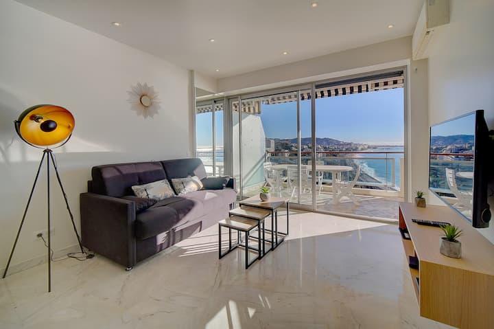 IMMOGROOM- Incredible View - Big Terrace - A/C - Parking - CONGRESS/BEACHES