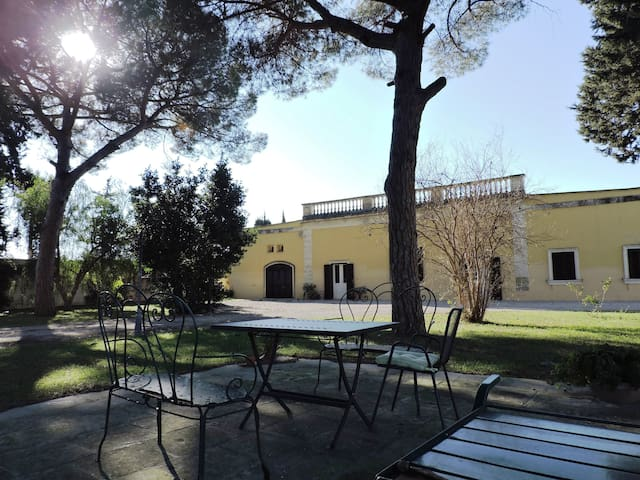 Lovely apartment in a green grarden - Lecce - Wohnung
