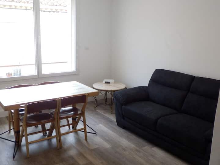 Appartement T3 45m² Argeles clim wifi