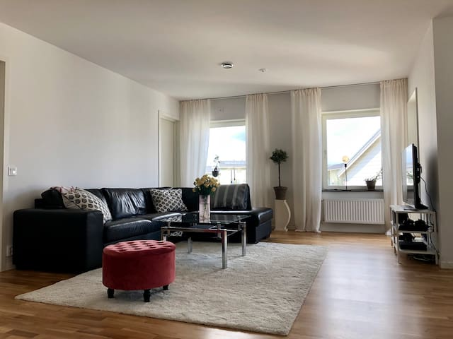 Beautiful 3 bedroom apartment near Stockholm