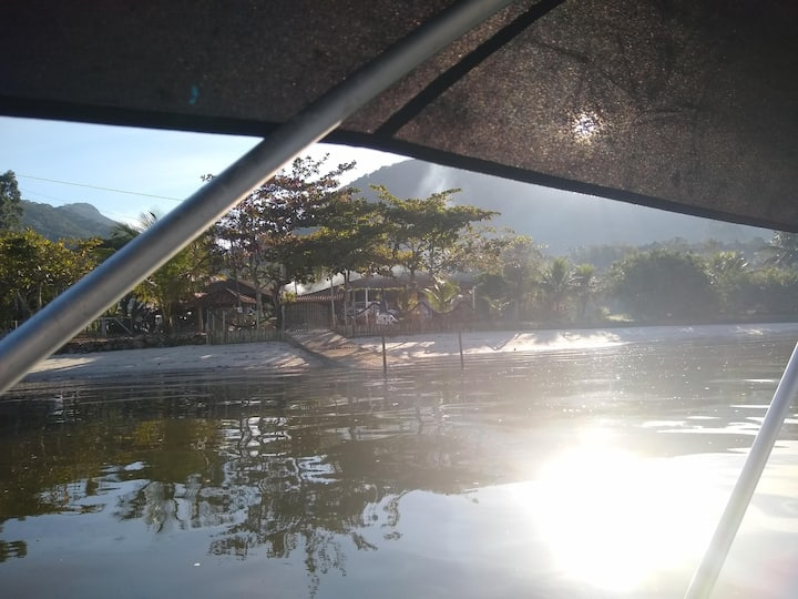 Lazer, descanso, pesca, natureza na Babitonga