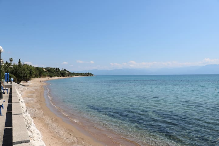 5 meters from the beach