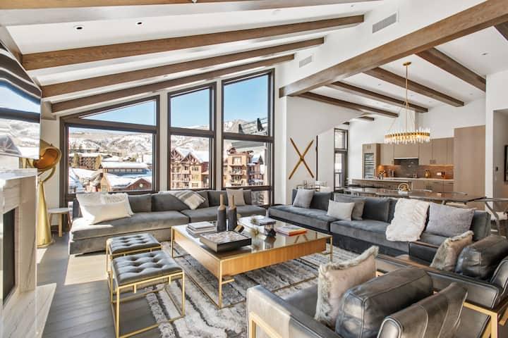 Village Center Penthouse -- Snowmass' Finest