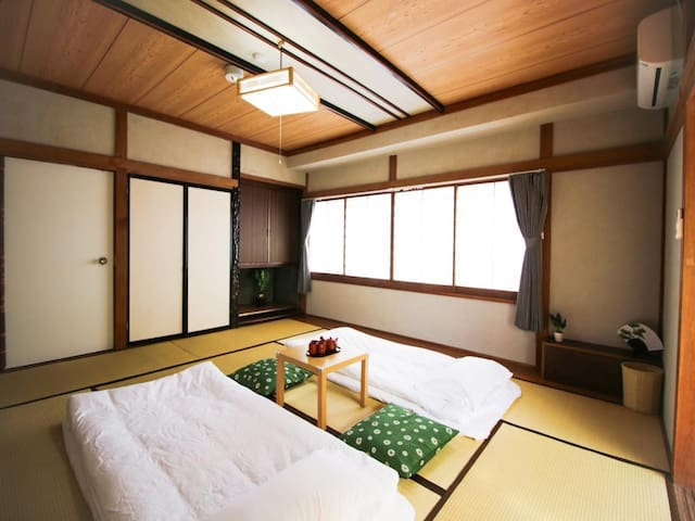 Mt. Fuji view! Japanese-style single room A201