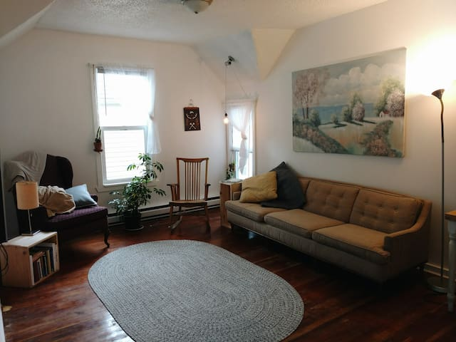 Whimsical 1 Bedroom Apartment, downtown-ish Fargo