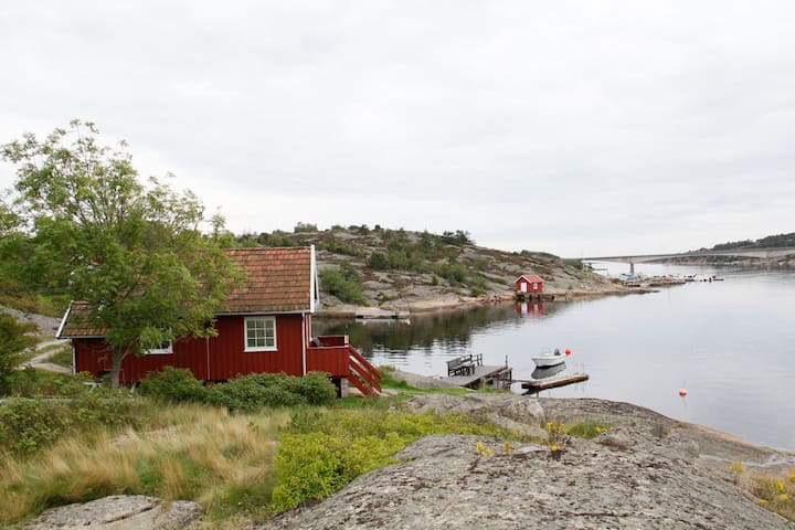 Knatten's annex - by the sea at Asmaløy, Hvaler