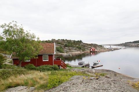 Knatten's annex - by the sea at Asmaløy, Hvaler