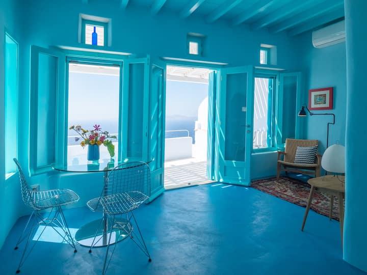 Tinos Blue House