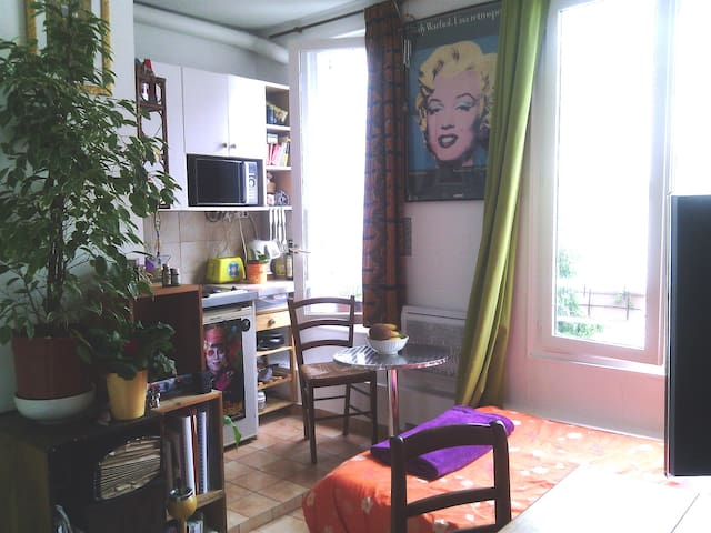 Sunny cosy studio - Center of Paris (11th)