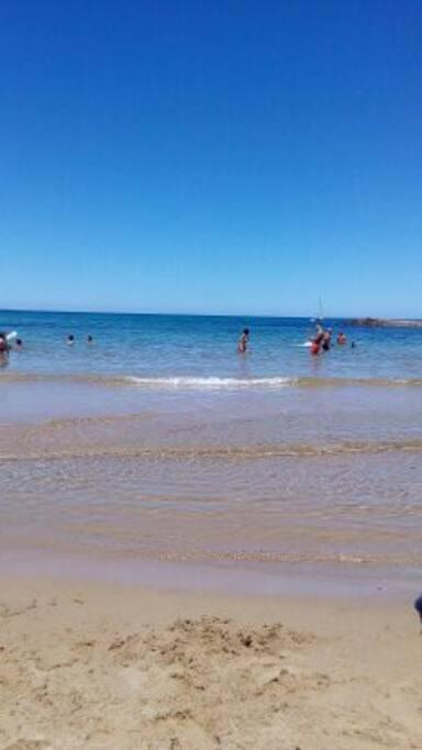 Spiaggia a 20 m dall'alloggio