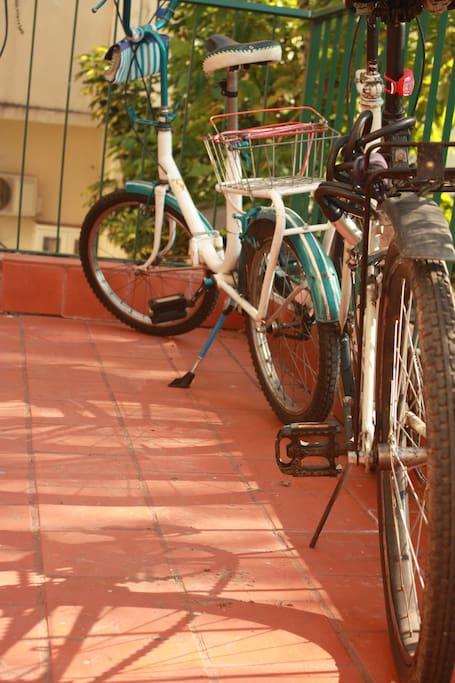 podes usar nuestras bicis!