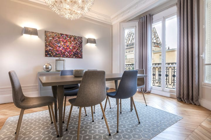 Amaizing & Modern 2 bedrooms next to Eiffel Tower