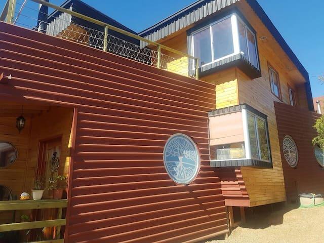 Cabañas Algarrobo Lodge 2 pax - Algarrobo - Blockhütte