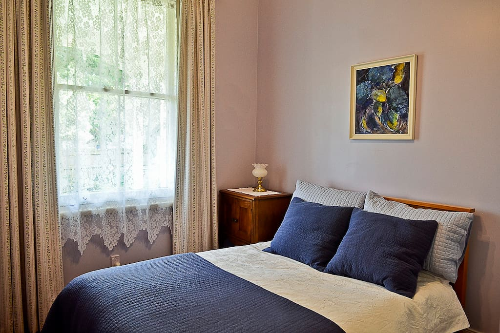 Double Room with views into the garden